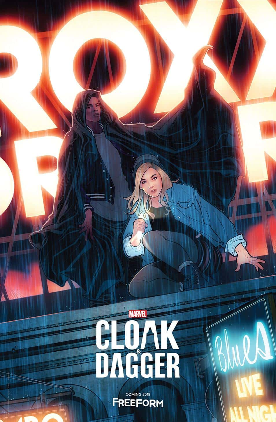 Official New York Comic Con poster for Marvel's 'Cloak & Dagger' (Marvel)