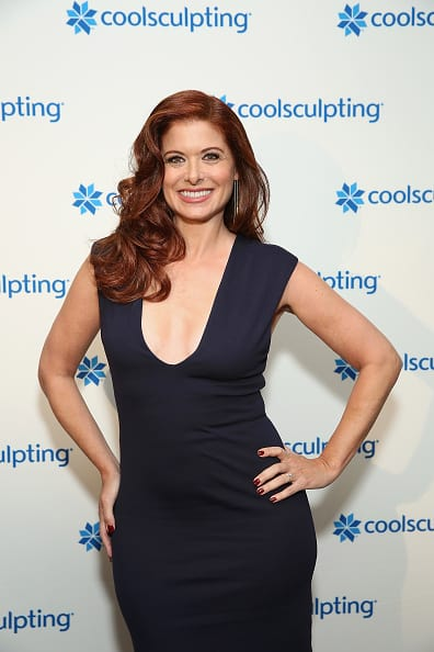 Emmy Award-winning actress Debra Messing (Getty)