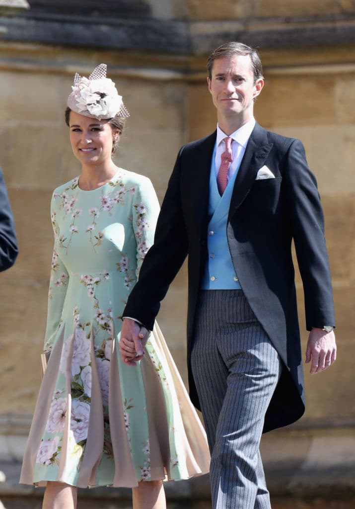 Pippa Middleton confirms James and her are expecting their first child (Photo by Chris Jackson/Getty Images)