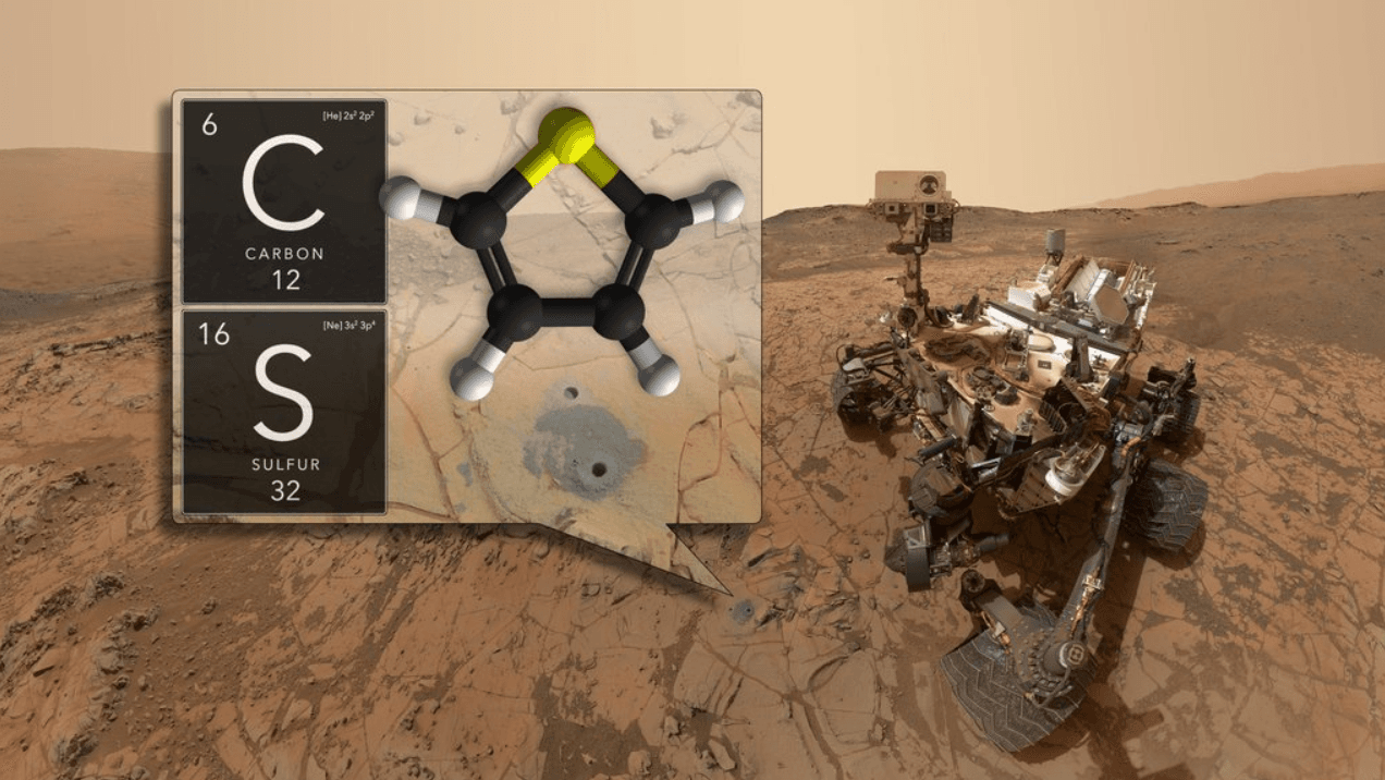 NASA's Curiosity rover has discovered complex organic material in the rocks found on the surface of the red planet (Twitter)