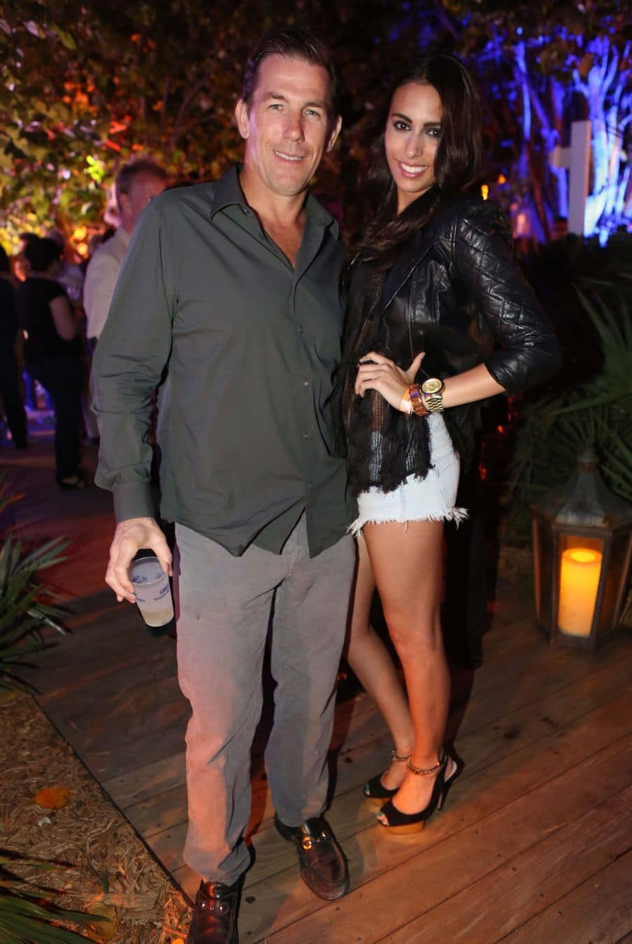 Thomas Ravenel and Rouge Apker attend Miami Beach Polo Event at W South Beach Hotel & Residences on April 26, 2013 in Miami Beach, Florida. (Photo by Aaron Davidson/Getty Images)