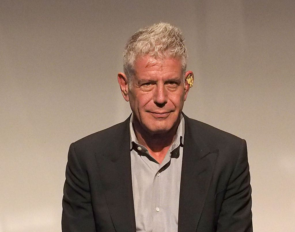 Anthony Bourdain's death has left a huge loss in the culinary world and many of his colleagues and friends have been mourning his death (Photo by Paul Zimmerman/Getty Images)