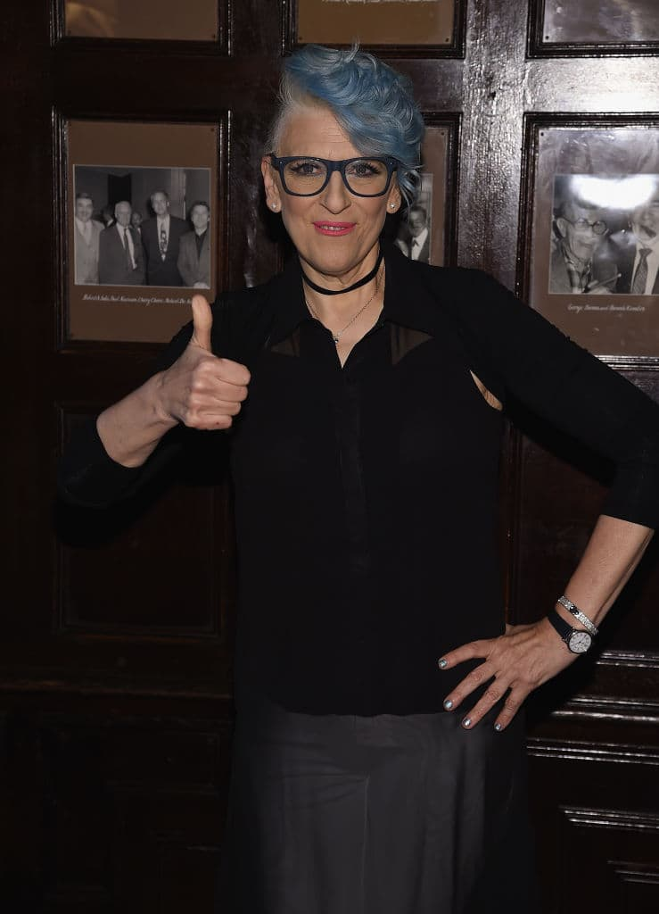 Lisa Lampanelli attends 'Stuffed' Preview Show at The Friars Club on August 24, 2017 in New York City. (Photo by Dimitrios Kambouris/Getty Images)