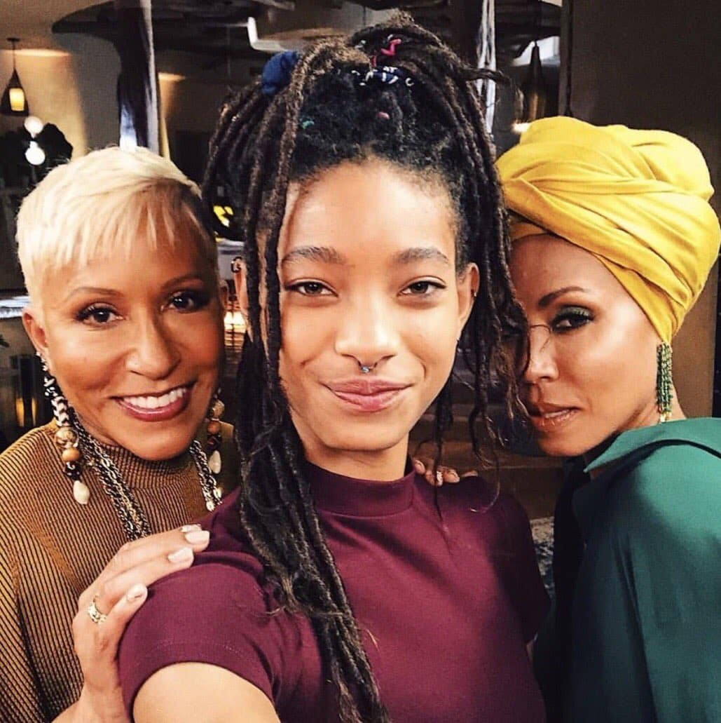 Jada spoke about self-pleasuring in her latest episode of red table talk with Willow and Adrienne (Twitter)
