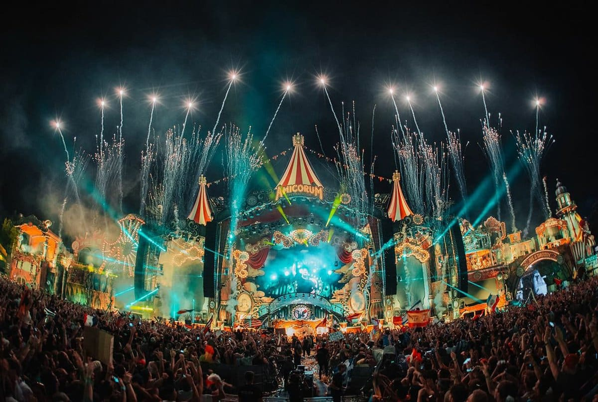 Tomorrowland is back for another smashing festival (Twitter)
