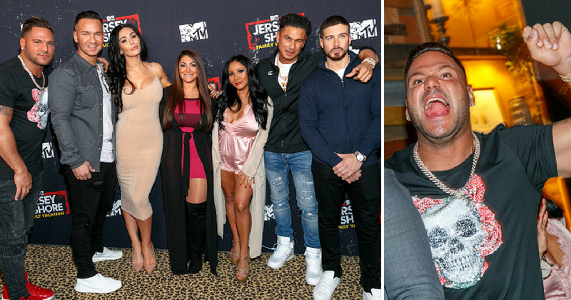 'Jersey Shore' cast is staging an intervention to save Ronnie Ortiz-Magro from a 'downward spiral'