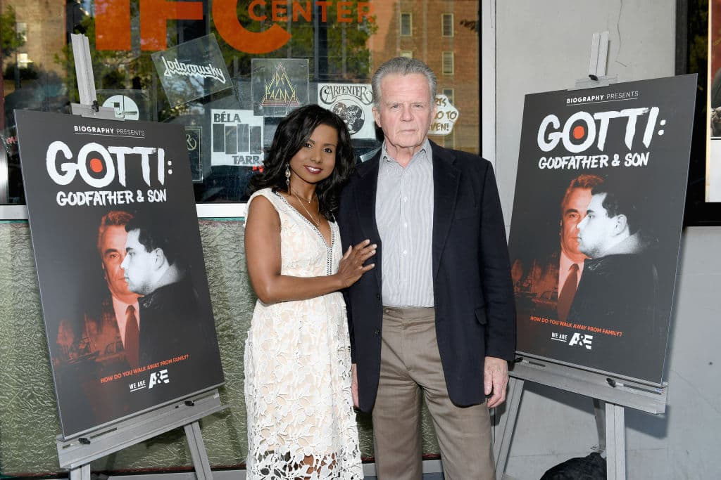 Antoinette Stratton and Director Richard Stratton attend as A&E hosts an exclusive screening of 'Gotti: Godfather & Son' airing June 9th and 10th on A&E at IFC Center on May 8, 2018 in New York City. (Photo by Mike Coppola/Getty Images for A&E Networks )