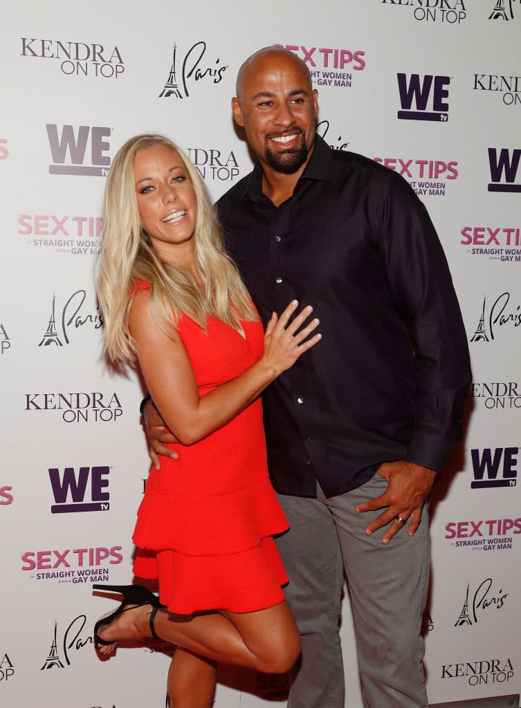 Kendra live-tweeted her argument with Hank  (Photo by Isaac Brekken/Getty Images for WE tv)