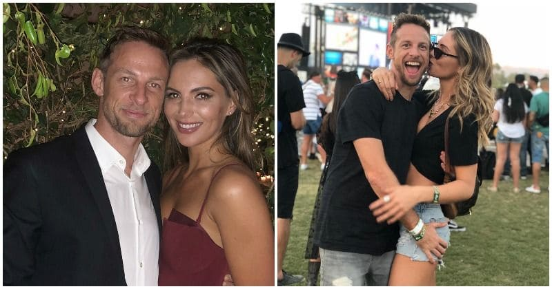 Jenson Button and former Playboy model Brittny Ward are engaged