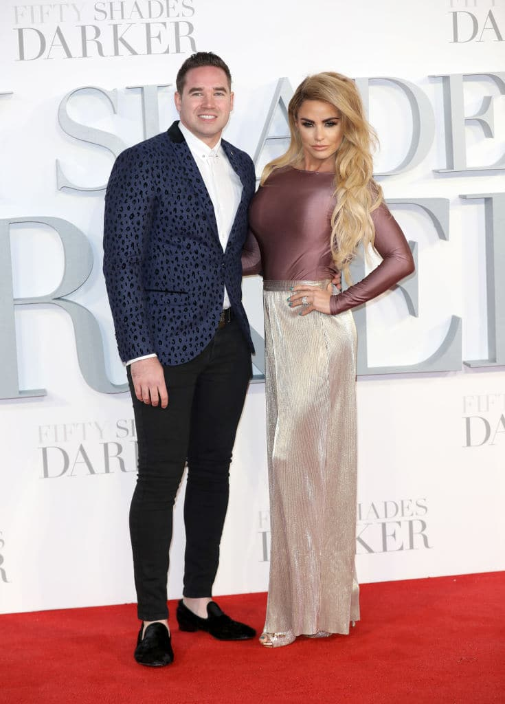 Katie Price recently split from Kieran (Photo by Tim P. Whitby/Getty Images