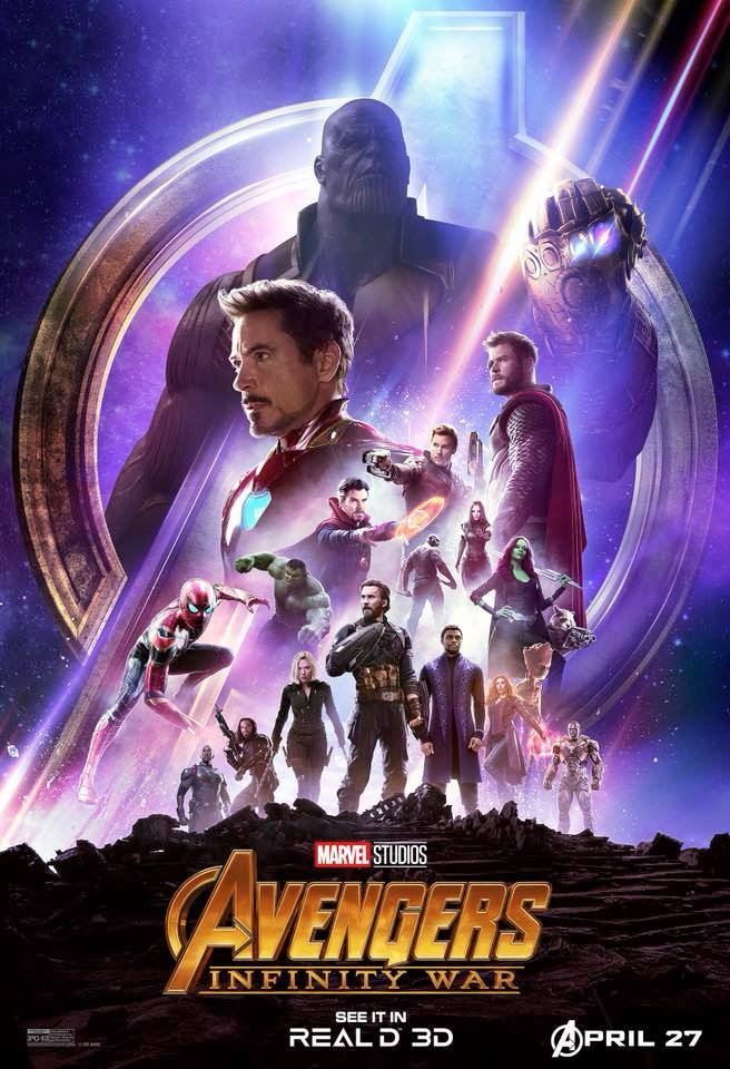 Avengers: Infinity War is currently in theaters (Marvel)