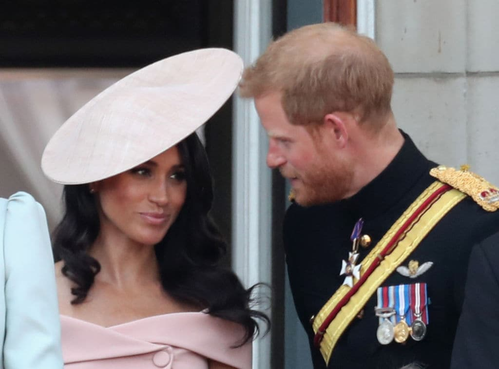 Prince Harry has been reportedly helping his lady love get used to being the Duchess of Sussex (Getty Images)