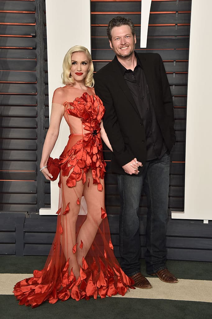 Gwen Stefani and Blake Shelton confirmed their relationship in November 2015. (Getty Images)