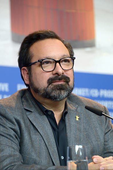 Director James Mangold at the 'Logan' press conference (Getty Images)
