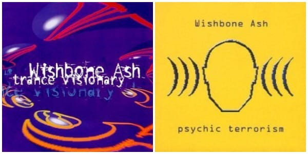 'Trance Visionary' and 'Psychic Terrorism' saw Wishbone Ash experiment with its music and take a complete left turn. (Image Source: Wikimedia)