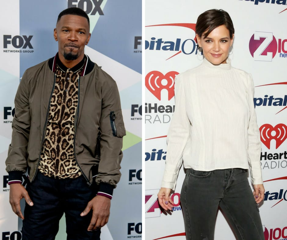 Jamiee Foxx and Katie Holmes went public with their long-rumored relationship last year. (Getty Images)