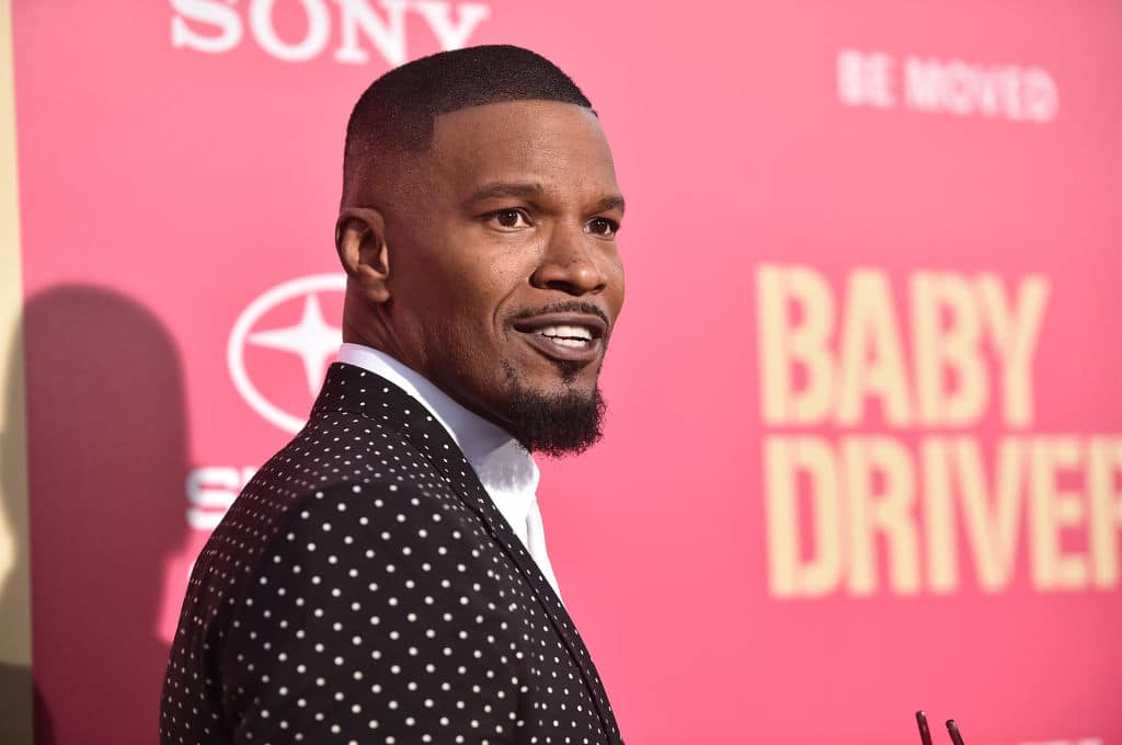 Foxx will be filing a report with the Las Vegas Police Department against the woman (Getty Images)
