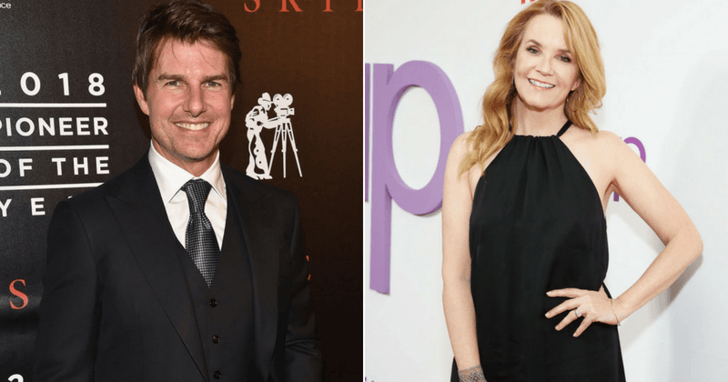 Tom Cruise saved 'Back to the Future' actress Lea Thompson from being forced to go topless for a movie scene