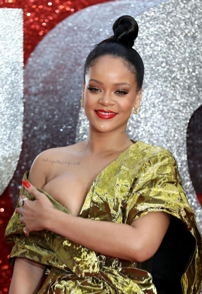 Rihanna suffers major wardrobe malfunction at 'Ocean's 8 ...