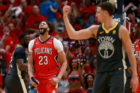 Anthony Davis is one of the finalists for the MVP award. (Getty Images)