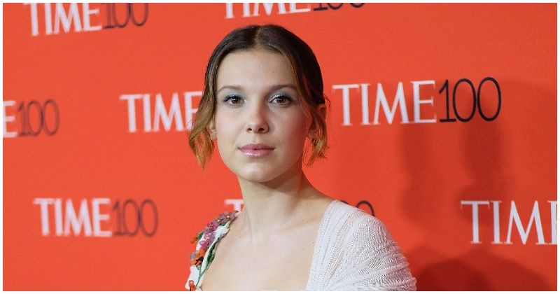 Image result for millie bobby brown crying