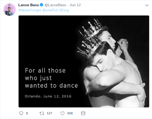 Bass was greatly disheartened by the Pulse nightclub shooting. (Twitter)