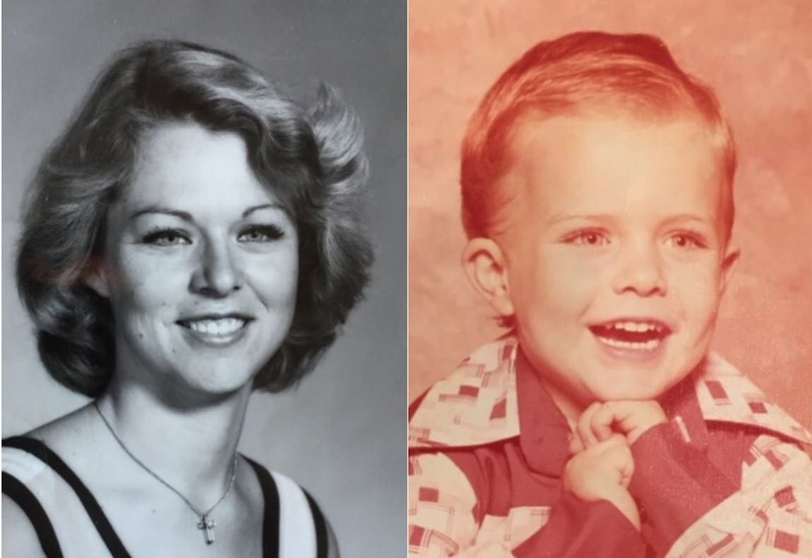 Rhonda Wicht and her 4-year-old son, Donald, were murdered in 1978 at their home in Simi Valley (Twitter)