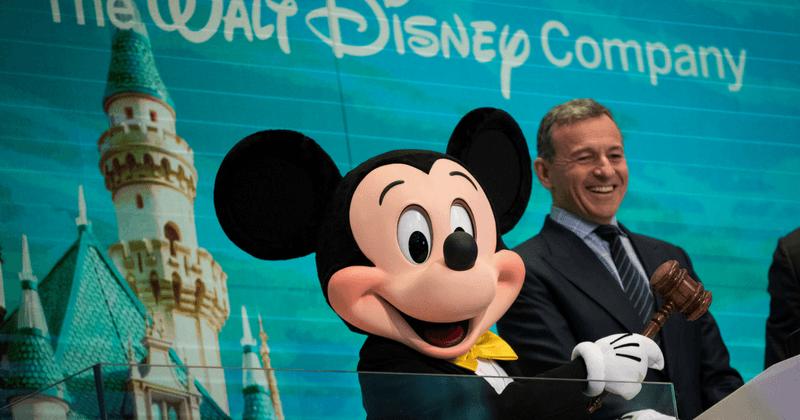Bob Iger, director ejecutivo de Disney (Getty)