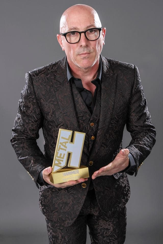 Maynard received the Icon Award at the Metal Hammer Golden Gods awards in London on Monday, where he went on record to confirm that the new album will drop in 2019. (Image Source: Facebook/Tool)