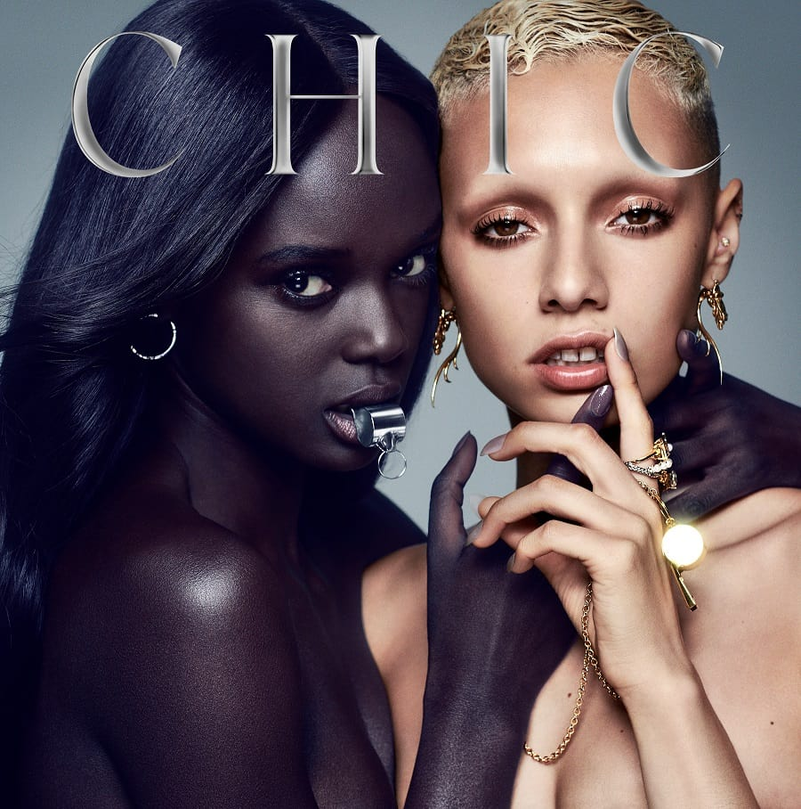 Album art for Nile Rodgers and CHIC's upcoming LP 'It's About Time'.