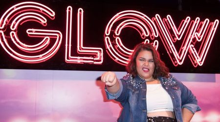 """I wrestled a lot more than I acted"" Britney Young aka Machu Picchu teases season 2 of 'GLOW'"