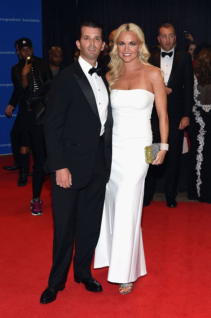 Donald and Vanessa announced their split in March (Photo by Larry Busacca/Getty Images)
