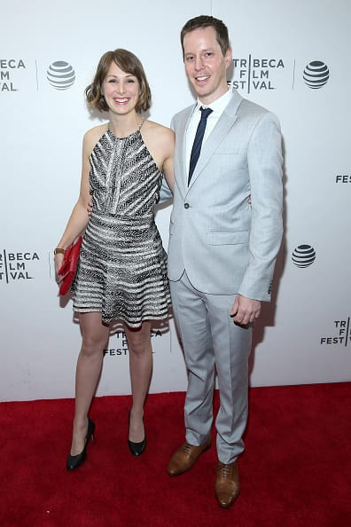 Ron and Emily at the premiere of 'Future Boyfriend' at the Tribeca Film Festival in 2016 (Getty Images)