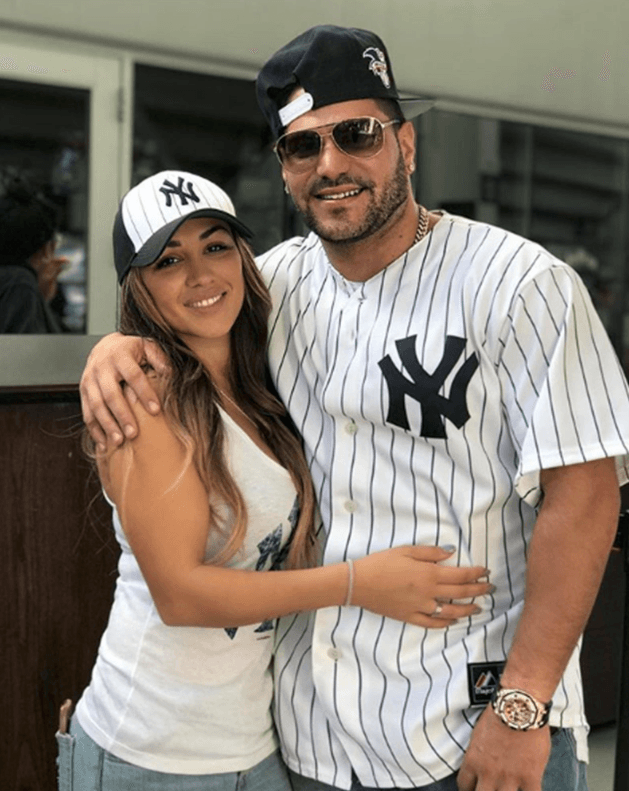 Jen Harley and Ronnie Ortiz Magro (Source: Twitter)