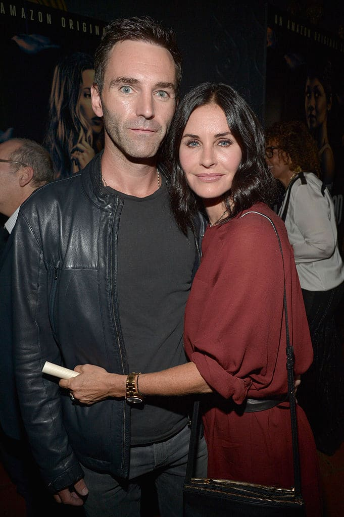 Johnny McDaid and Courteney Cox (Source: Getty Images)