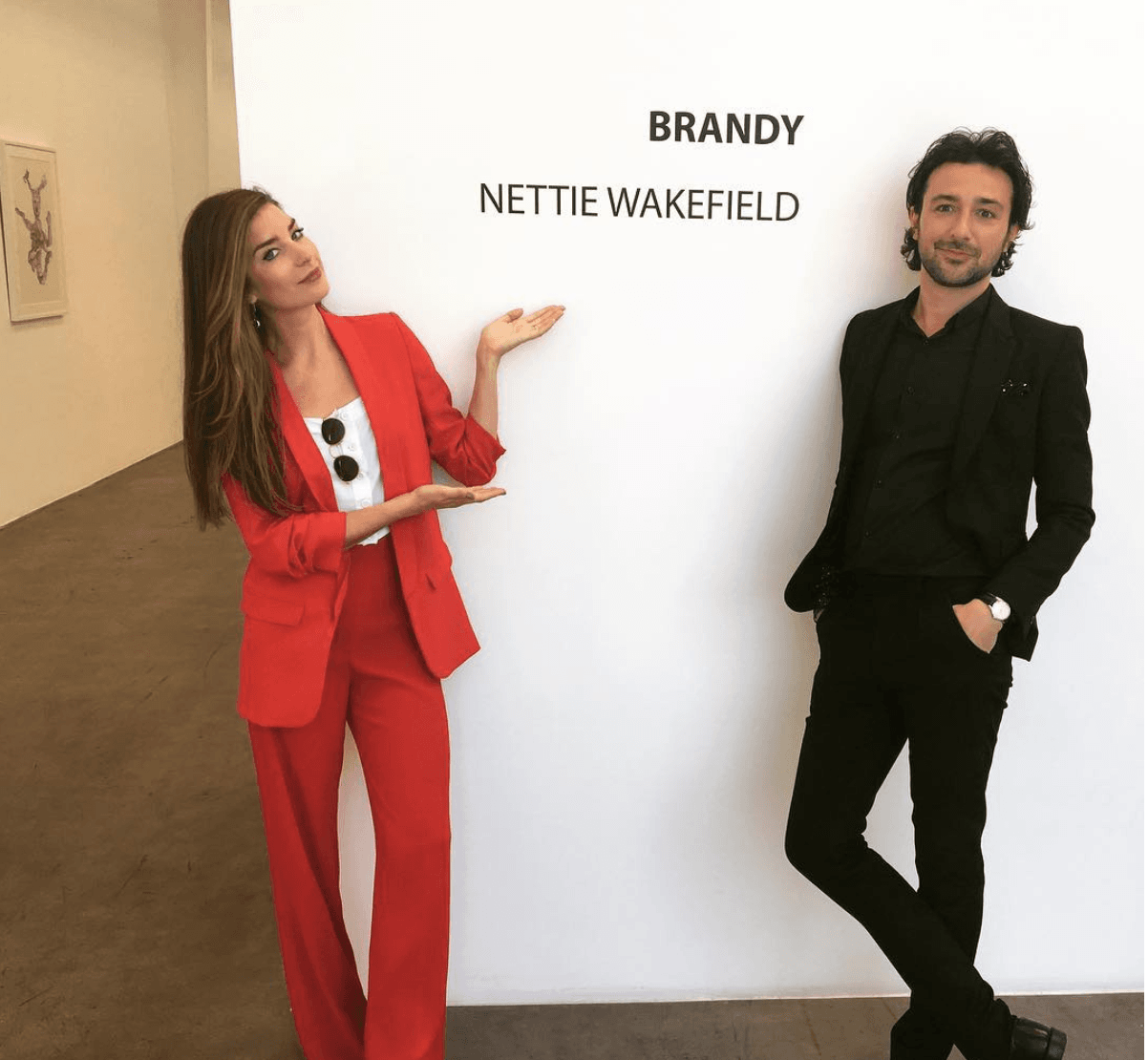 Nettie Wakefield and Alex Zane (instagram)