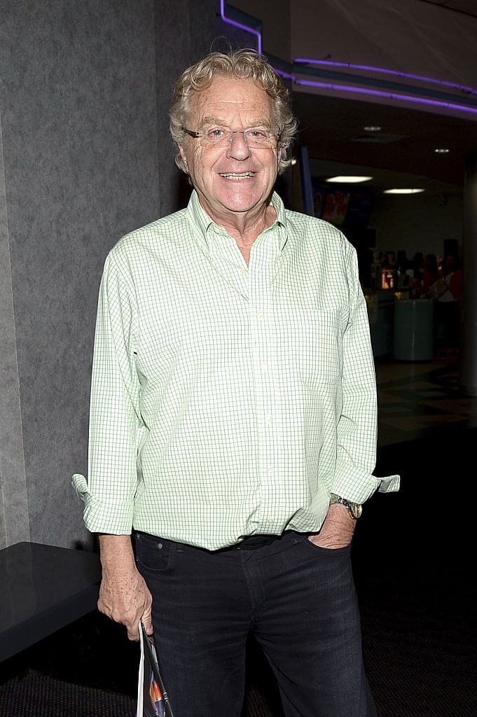 'The Jerry Springer Show' may be no more (Source: Gustavo Caballero/Getty Images for 2015 Sarasota Film Festival)