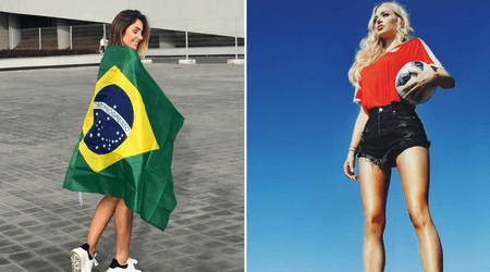 World Cup love: WAGs of football stars show support for their respective superstar baes on Instagram