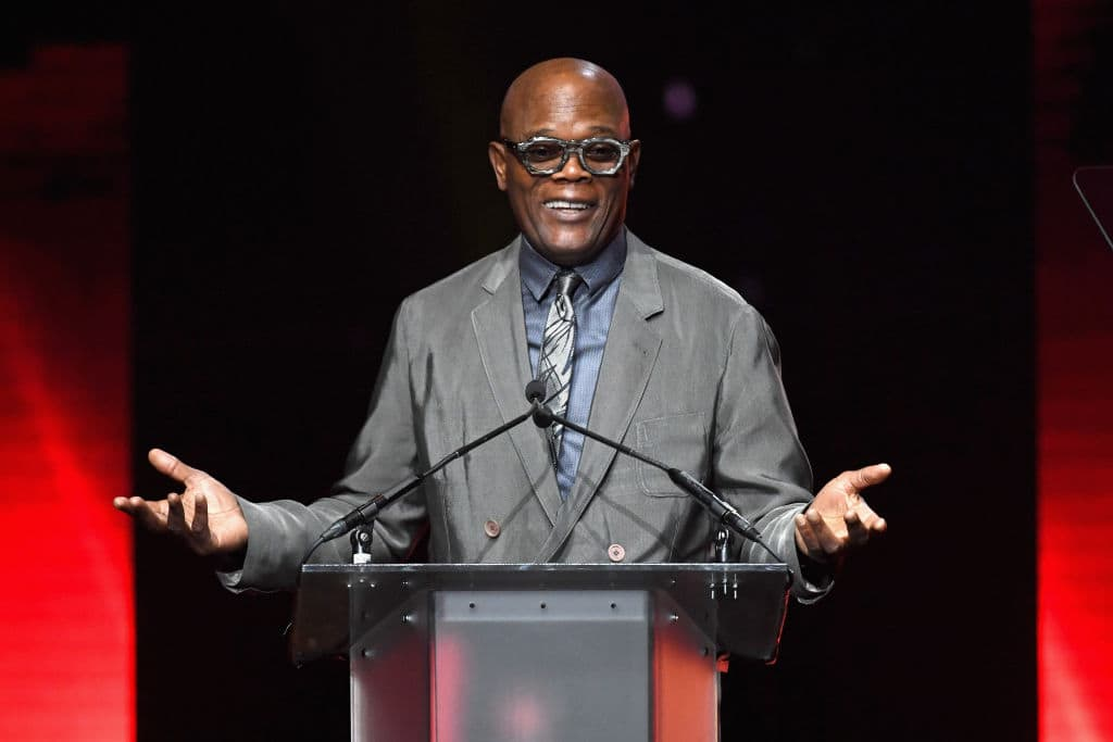 Samuel L Jackson credited his work on 'Captain Marvel' to giving him a prospective insight on just what exactly is going on with our beloved 'Avengers'. (Ethan Miller/Getty Images for CinemaCon)