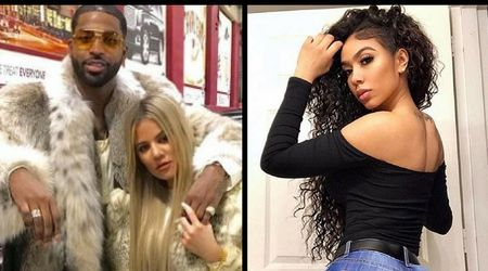 Tristan Thompson's mistress Lani Blair is reportedly staying with him post Khloe's move to LA