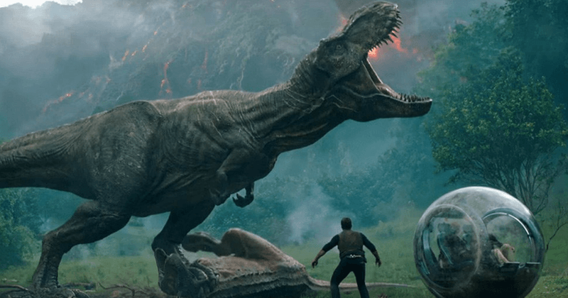 "Jurrasic World: Fallen Kingdom: Dinosaur flick gets mellowed praise from critics and one dismissed it as ""steaming dino poop"""