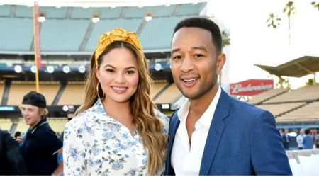 John Legend slammed for sharing a picture of Chrissy Teigen pumping milk in a car