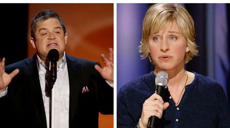 Patton Oswalt and Ellen DeGeneres: Making comedy from a miserable place