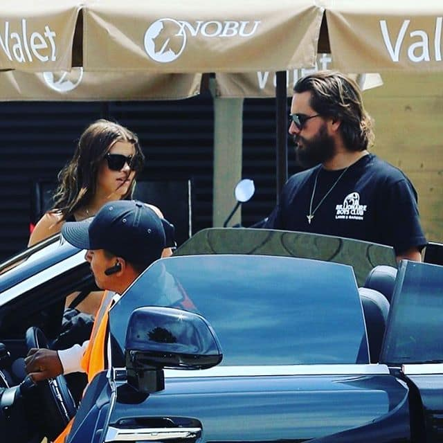 According to the people at the party, Disick had claimed that he and Richie were no longer together, which seemed to justify him hitting on another girl at the event. (Source: Instagram)