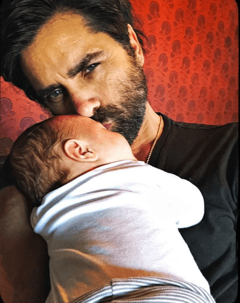 Stamos shared some pictures of his son (Source: Instagram)