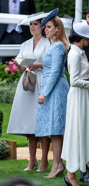 Princess Eugenie stunned at the Ascot race (Getty Images)