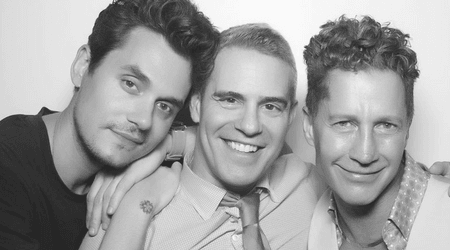 "Andy Cohen dismisses rumors about dating John Mayer, says they just happen to share ""a very sweet friendship"""