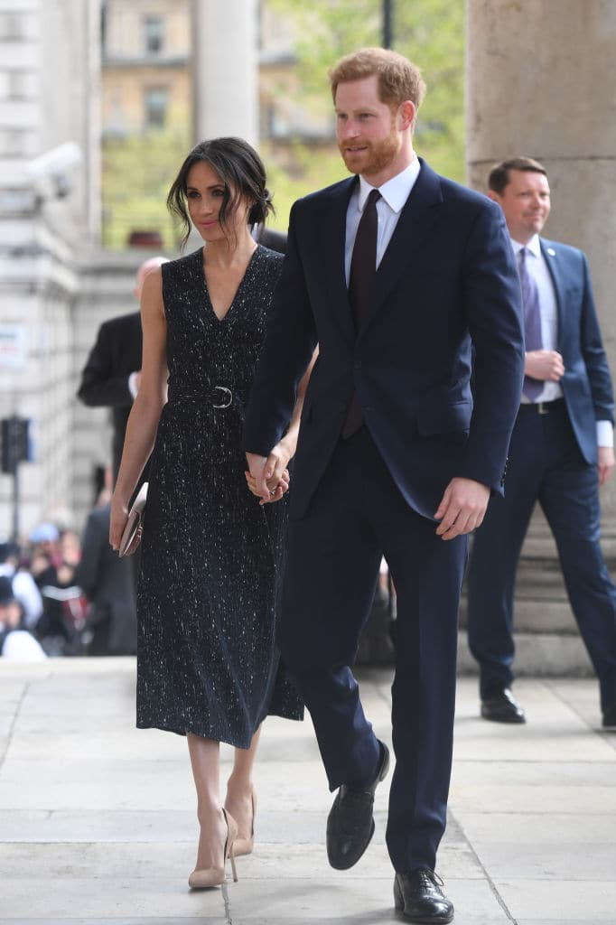 Prince Harry and Meghan Markle in London (Photo by Victoria Jones WPA Pool/Getty Images)