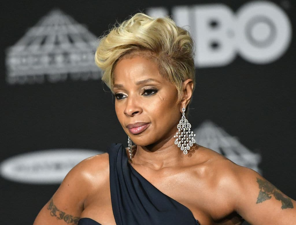 Blige made her film debut with the Darnell Martin-directed 2001 film 'Prison Song' (Getty Images)
