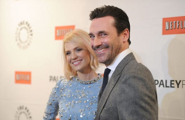 John Hamm and January Jones have been pretty secretive of their apparent relationship (Getty Images)